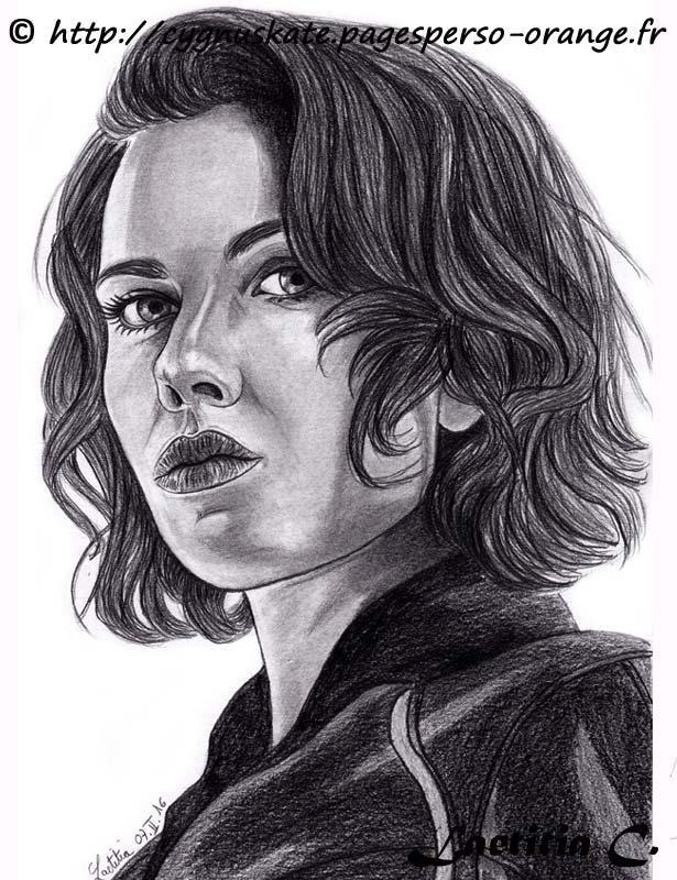 Scarlett Johansson by Laetitia